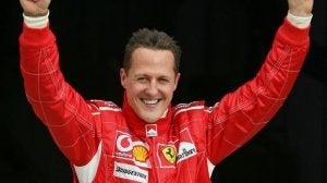 Michael Schumacher pendant l'une de ses consécrations.