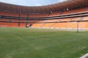 Le FNB Stadium, l'un des plus grands stades du monde.