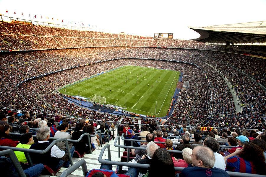 Restrictions d'accès à un stade de football