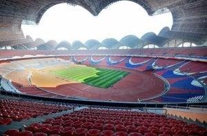 Stade du 1er Mai, le plus grand des stades du monde.