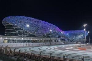 L'un des circuits F1 les plus modernes aux Emirats Arabes.