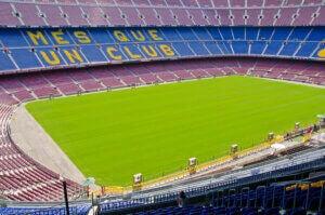 Le Camp Nou est l'un des plus grands stades d'Espagne.