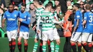 match Celtic Glasgow et Glasgow Rangers