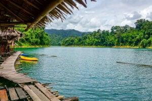 Nager en Thaïlande