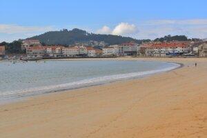 Une plage en Galice