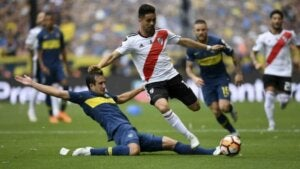 superclasico River Plate et Boca Juniors