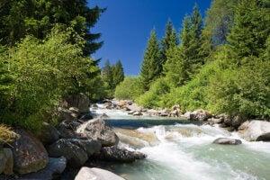 Rivière Noce et rafting