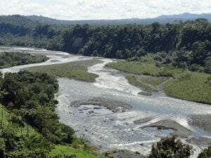 La rivière Upano