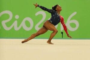Simon Biles aux Jeux Olympiques de Rio