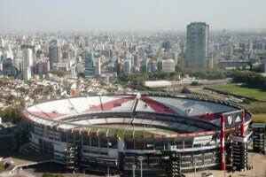 Le Monumental est le lieu où River Plate joue à domicile.