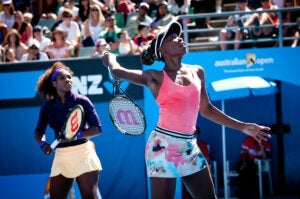 Venus et Serena Williams en doubles