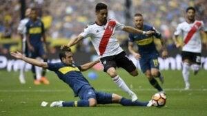 Match avec l'équipe des Boca Juniors.