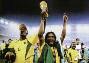 Le Brésil, champion du monde en 2002.