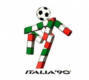 Ciao, la mascotte italienne de la coupe du monde de football.
