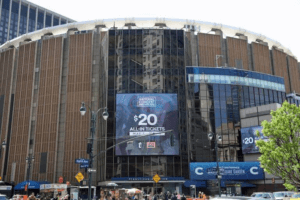 façade du Madison Square Garden