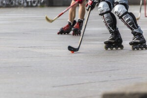 Hockey sur patins à roulettes