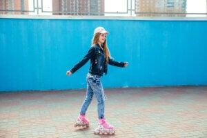 Patinage sur patins à roulettes