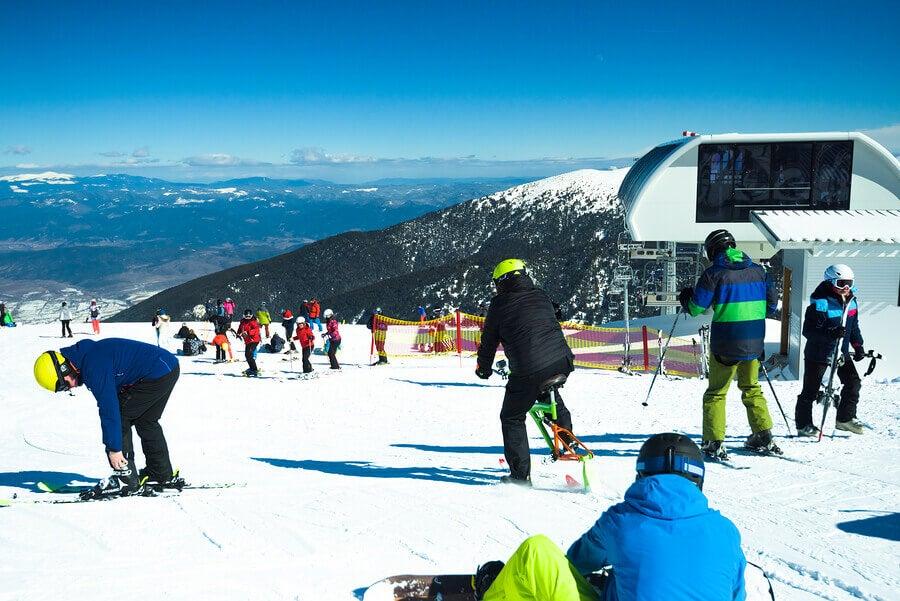 Exigences légales des pistes de ski