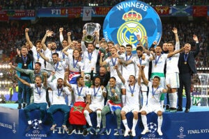 Le Real Madrid vainqueure du plus grand nombre de titres internationaux.