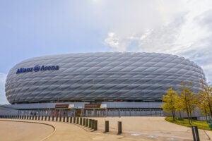 l'Allianz Arena, le stade du Bayern Munich