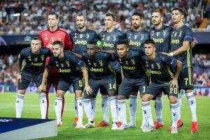 L'équipe de la Juventus.