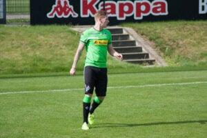 Un joueur du Bundesliga.