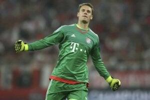 Image de Manuel Neuer gardien du Bayern Munich.