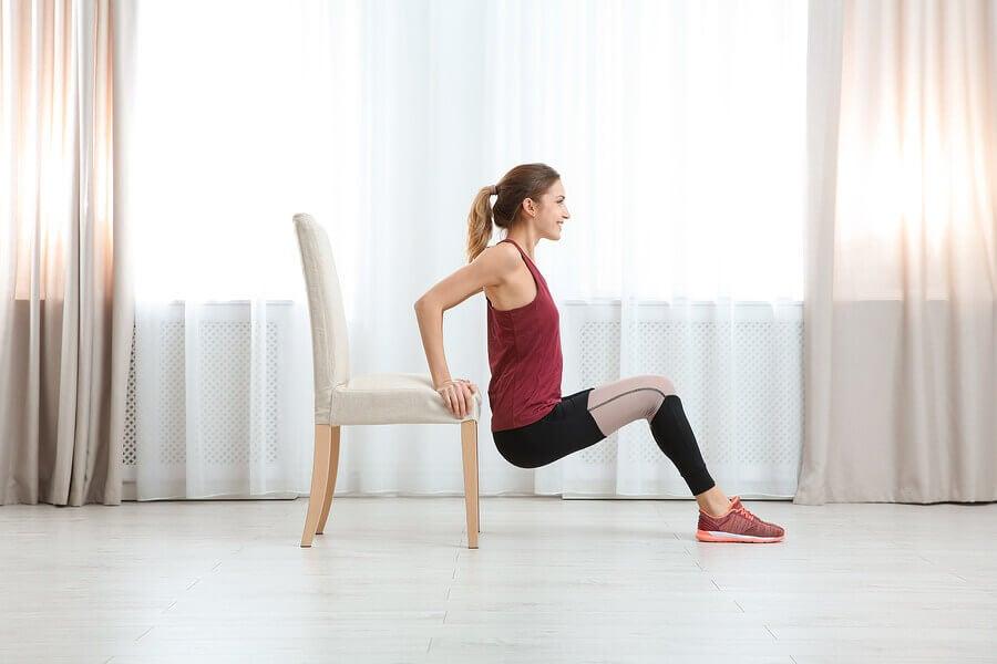 Objets à utiliser à la maison pour faire des exercices