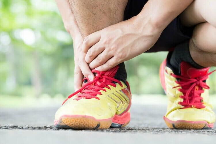 Les causes d'une lésion au tendon