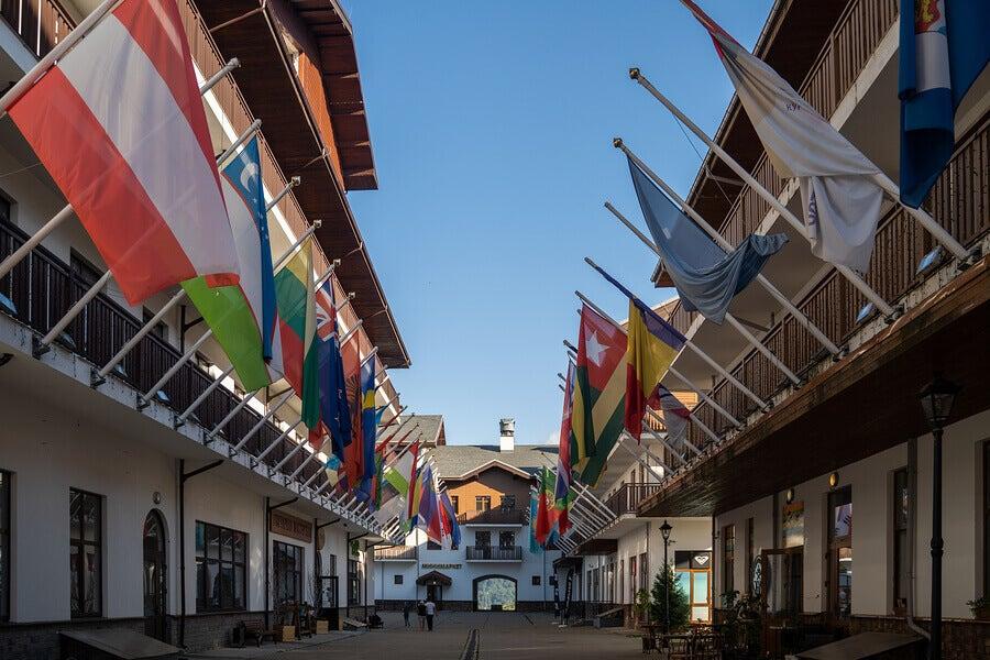 Le sort des villages olympiques