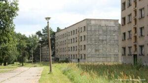 Le village olympique pour les Jeux Olympiques de Berlin 1936.