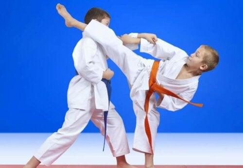 Les arts martiaux pour les enfants