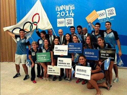 Les Jeux Olympiques de la Jeunesse