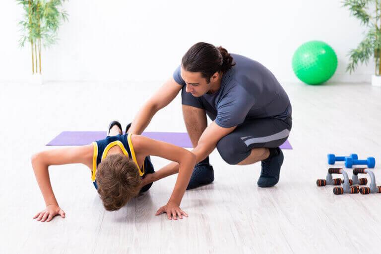 L'influence des parents avec des enfants sportifs