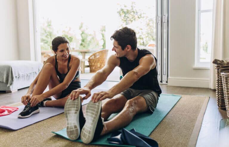 Entraînement de stretching sans sortir de la maison