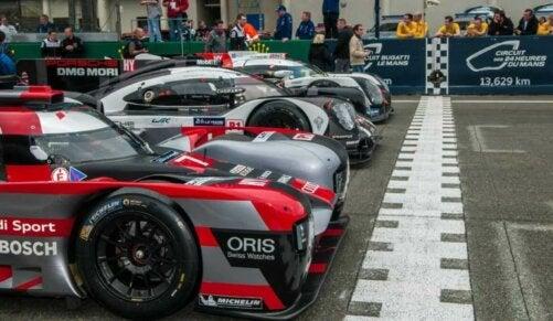Les voitures des 24 Heures du Mans