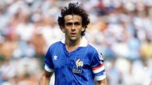 Michel Platini parmi les meilleurs joueurs européens.