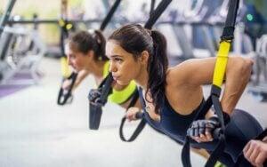 entraînement en suspension