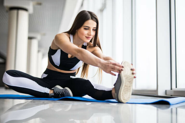 Étirement du muscle pyramidal du bassin