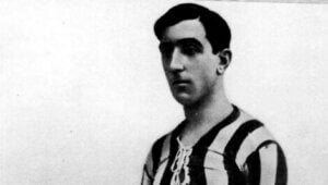 Le joueur de football Pichichi.