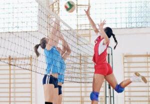 Le volleyball féminin.