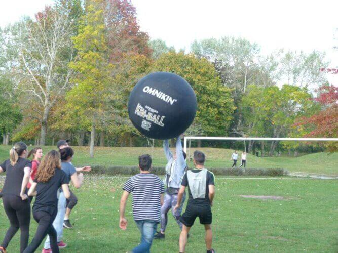 Comment jouer au Kin-Ball ?