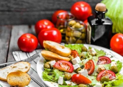 Choisir le régime méditerranéen permet une alimentation saine et bonne pour Noël