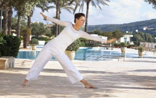 Postura yoga tantrico
