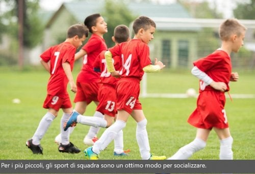 benefici dello sport per i bambini