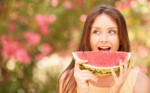 Gli effetti benefici dell'anguria sulla salute