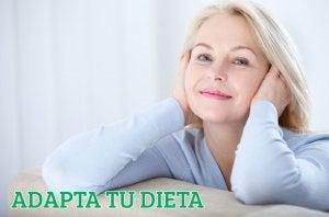 Dieta durante la menopausa.