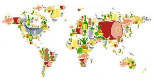 3 paesi con una buona alimentazione