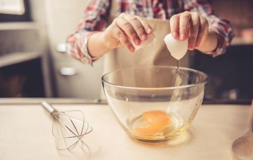 Preparazione a base di uova