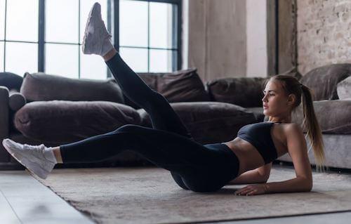 esercizi fatti in casa per perdere peso da casa